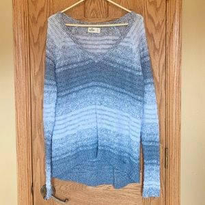 Hollister V-neck Knit Sweater